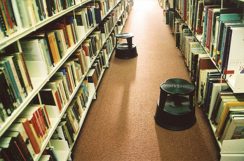 pipsss:  Library by Adele M. Reed on Flickr.