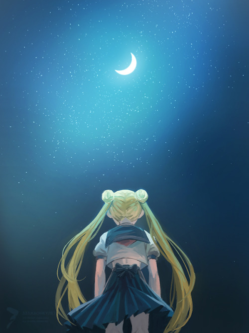 andatsea:  A sketch in celebration of the reboot. Sailor Moon was a huge influence for me back in the '90s, as I'm sure it was for a lot of people.