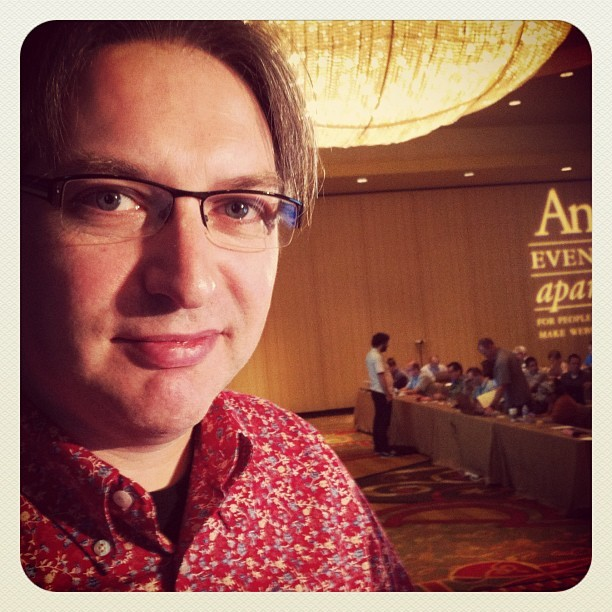 Jeremy Keith at An Event Apart #aea #austin  (Taken with Instagram at An Event Apart Austin)