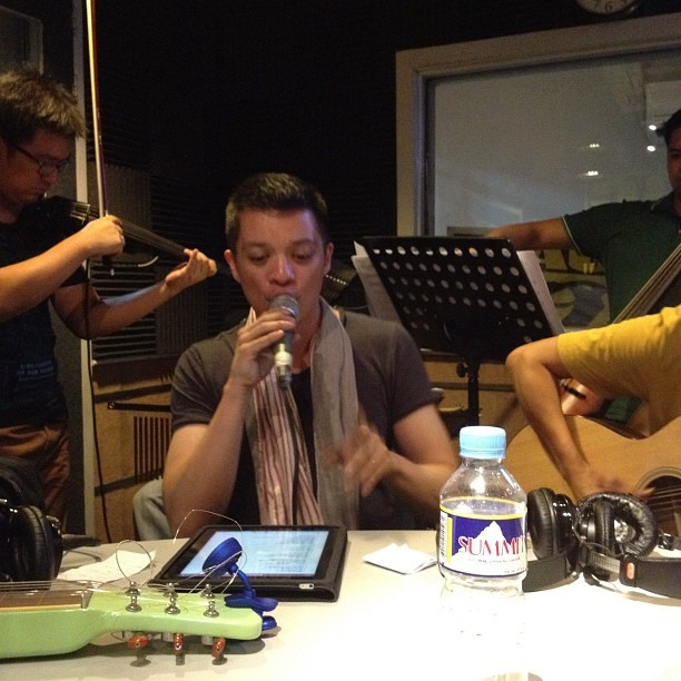 tonyontheradio:  #morningrose @bamboomusiclive (Taken with Instagram)