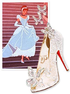 A Christian Louboutin and Disney collaboration? Yes please!