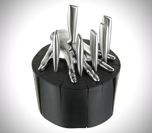 Five Finger Fillet Steak Knife Set