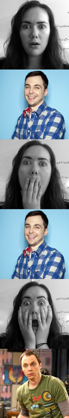 When Lauren Saw Jim Parsons On The Street: An EEEEEEEEEEE! True Hollywood Story (I made excited giggly mumbling noises at him. He was sweet and pretended they were words.)