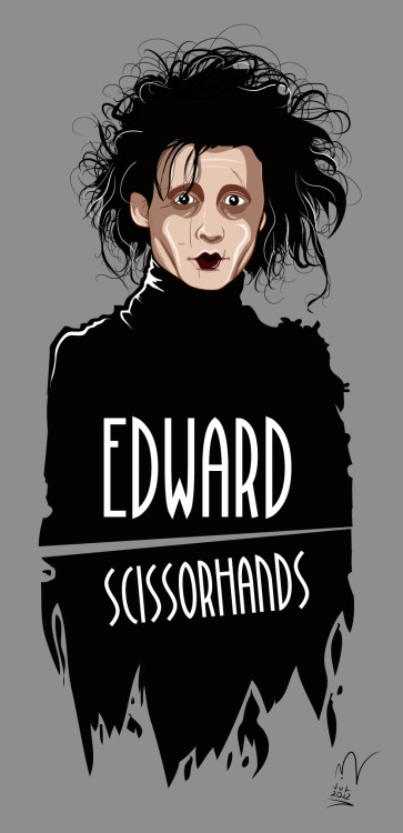Edward Scissorhands by michelkuchki