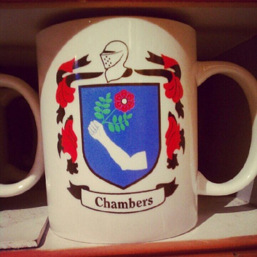 @lukechambers I found your coat of arms! (Taken with Instagram)