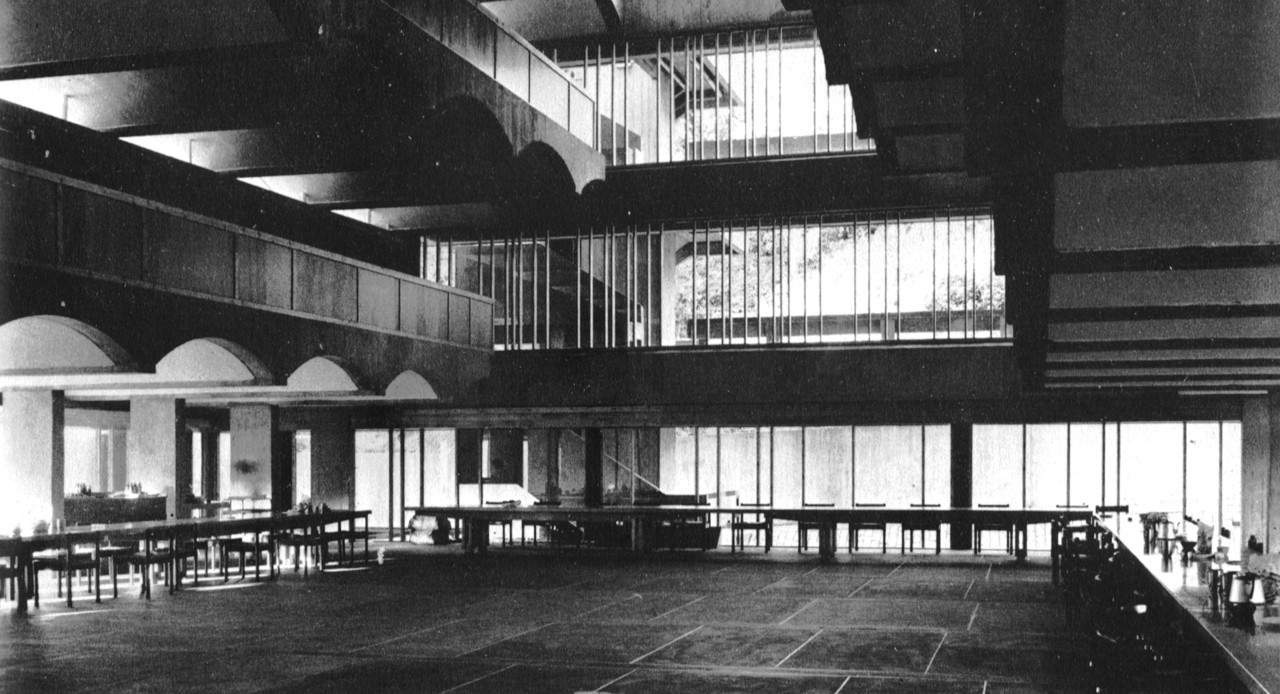 St. Peter's College, Cardross, Scotland, 1966 (Gillespie, Kidd & Coia)