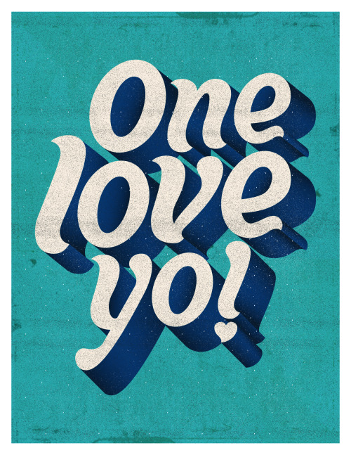 aquaticwonder:  One Love