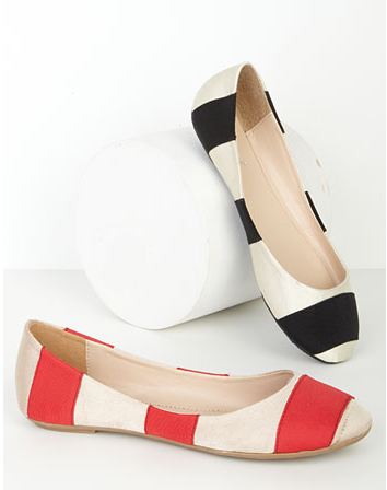 Cory Striped Skimmer - $24.90, Alloy Why doesn't Alloy make these flats in Size 11?