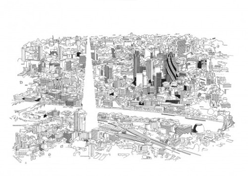 (via The Modern Metropolis, Illustrated / Chris Dent | ArchDaily)