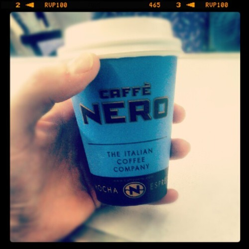 What gives with the miniature Nero sizes in Scotland? #nero #coffee #scotland http://instagr.am/p/M56EHQSd9w/
