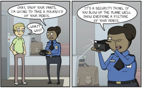 TSA Agent [Click to continue reading]