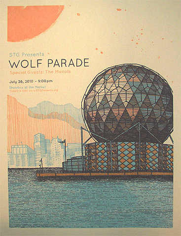 ffffffound:  GigPosters.com - Wolf Parade - Moools, The