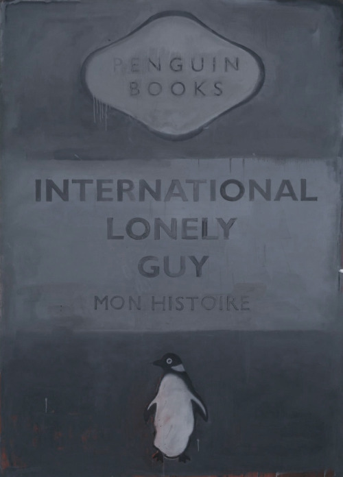 International Lonely Guy by Harland Miller.