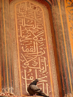 alyibnawi:  Islamic Art in Wazir Khan Mosque by manitoon on Flickr.