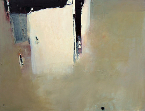 "workman:  dailyartjournal: Charlotte Vindevoghel, ""Nak I"", acrylic on canvas"