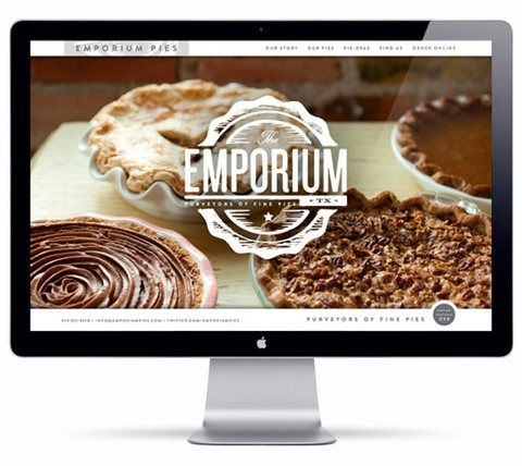 Daily Inspiration - The Emporium Website Design Check us out at www.owlrepublic.com