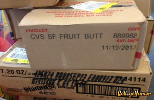 CVS Fruit Butt It's full of sweet ass.