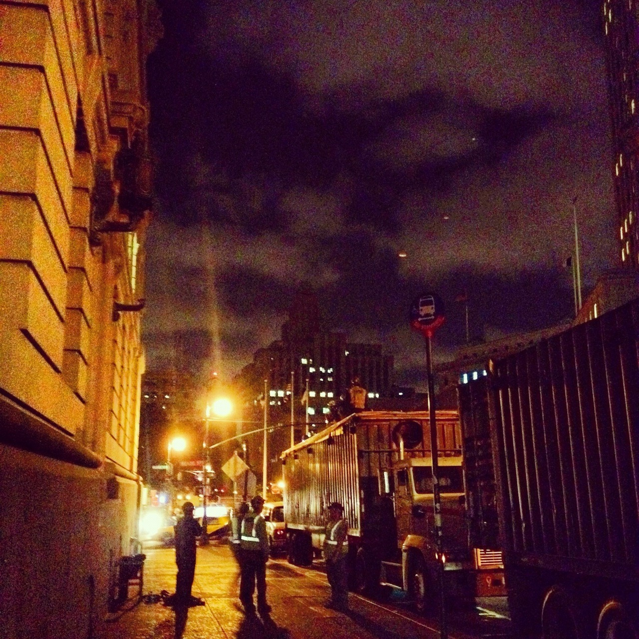 Night Shift / 31 Chambers St / TriBeca, New York, NY / 06.18.12 / 10:34PM