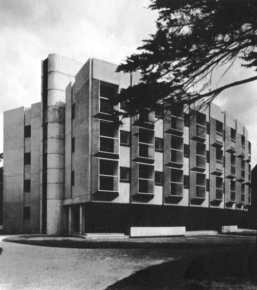fuckyeahbrutalism:  Wolfson Building, St. Anne's College, University of Oxford, England, 1964 (Howell, Killick, Partridge, Amis)
