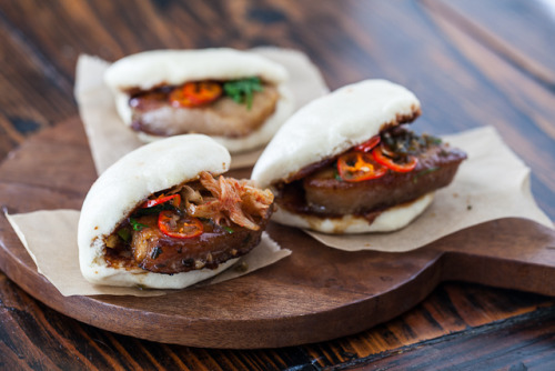 Pork Belly Buns Recipe. These look awesome. And if you have never had Chinese steamed buns they have some Vietnamese tacos with them at Cheesecake Factory.