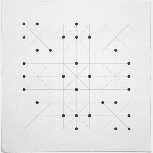 geometrydaily:  #193 Sudoku – A new minimal geometric composition each day