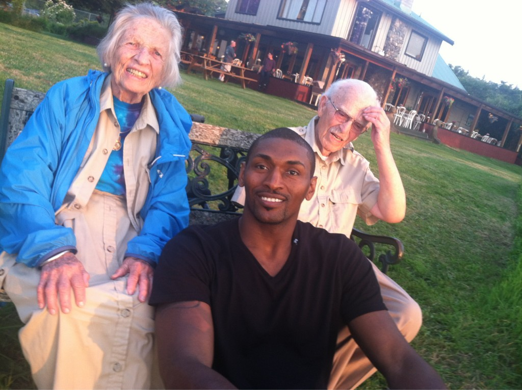 Metta World Peace is enjoying Canada