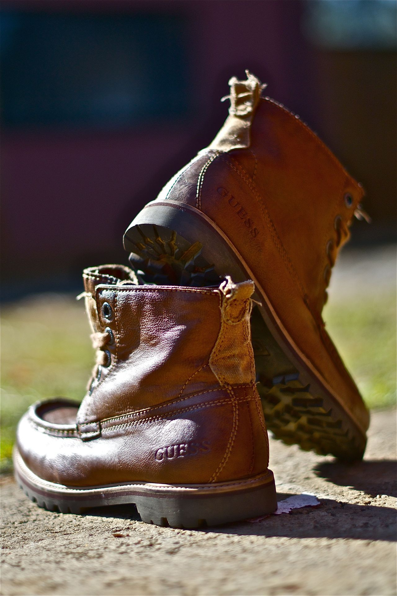 GUESS | COGNAC BOOTS Available at Stuttafords Photographed by: The Expressionist