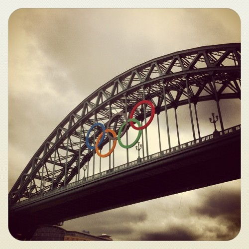 #newcastle is prepared for #london2012  (Wurde mit Instagram aufgenommen)