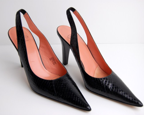 Looking for a sleek pair of slingbacks to accompany your work attire or evening out?