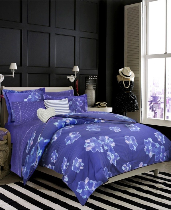 teenvogue:  Bedroom style: Give your space the royal treatment with vibrant purple accessories and décor. Check out more regal picks here »