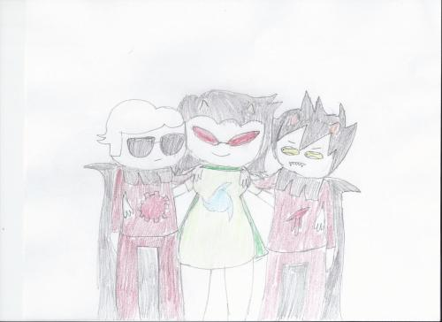 Terezi's two knights…