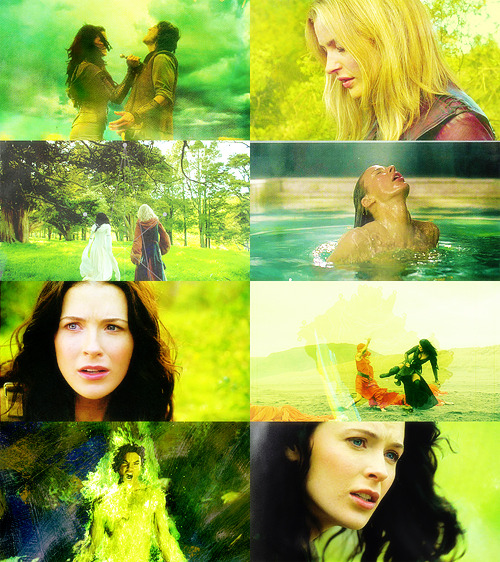 Colour Meme → Legend of the Seeker + Green