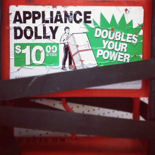 Double power? I wish I had this when [fill in the blank]. (Taken with Instagram)