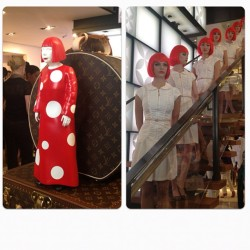 @louisvuitton_us + Yayoi Kusama = #LVKusama. ML (Taken with Instagram)