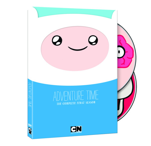 adventuretime:  Adventure Time: The Complete First Season Now on Sale Our long, long Region 1 nightmare is finally over. Adventure Time: The Complete First Season is now available. Besides now having all superlative 26 episodes eleven-minute on two DVDs, you'll get scads of extras including commentaries, animatics, featurettes, and other stuff. We encourage you to buy as many sets as you can afford (and then some!) through your favorite retailer, though Amazon has it for just $17.96. Now, where the heck is Season Two?  BOUGHT. Because this is one of the best cartoon I've ever seen, and because I want to support the AT team and especially because I just made a few of my room-mates fan of this show so everyone will be able to savour the item here!
