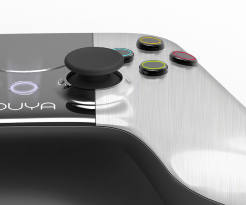 videogamenostalgia:  OUYA: A New Kind of Video Game Console An open source console built with Android OS is trying to change console gaming. Giving indie developers the ability to bring their games to the television and giving you many Free to Play games and demos, this looks like it can do what it aims to. It also brings Twitch.TV to your screen so you can watch all the esports your heart desires. With a Tegra3 quad-core processor, 1GB of ram, 8GB of flash storage, built in WiFi and Bluetooth, HDMI and USB support, and a controller with a touchpad built in, this little beast of a console will be more than enough running on Android 4.0. All they need now is your support to make their prototype a product ready to be sold (extremely cheaply) on market, so go over to their Kickstarter and make a pledge!