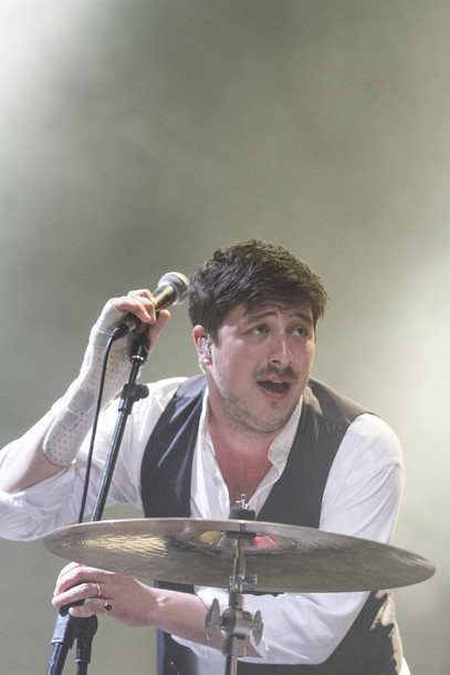 Marcus Mumford of Mumford & Sons performs at Harvest of Art Festival in Wiesen, Austria on 6th July 2012. Photo copyright Patrick Muennich.