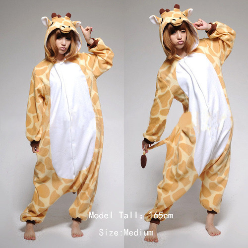 UGH. I want these Kigurumi pyjames! I've noticed they're quite cheap on ebay at the moment so I'm mulling it over. I can't decide if I want these or the Rilakkuma ones. (If I bought the Rilakkuma ones I could wear them to MCM and have the laziest cosplay ever?)