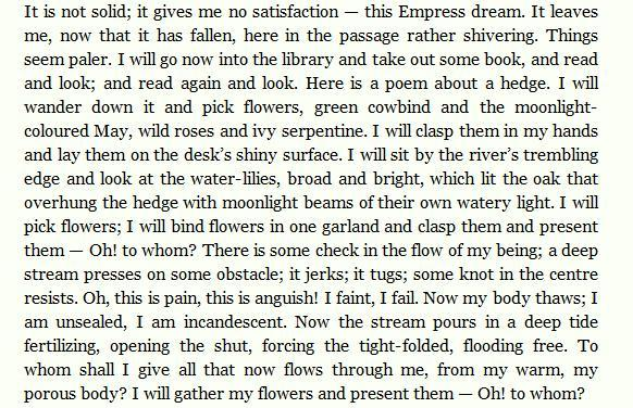 Virginia Woolf, The Waves.