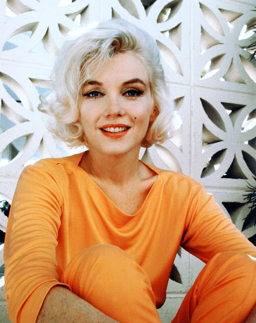 Marilyn Monroe photographed by George Barris, 1962