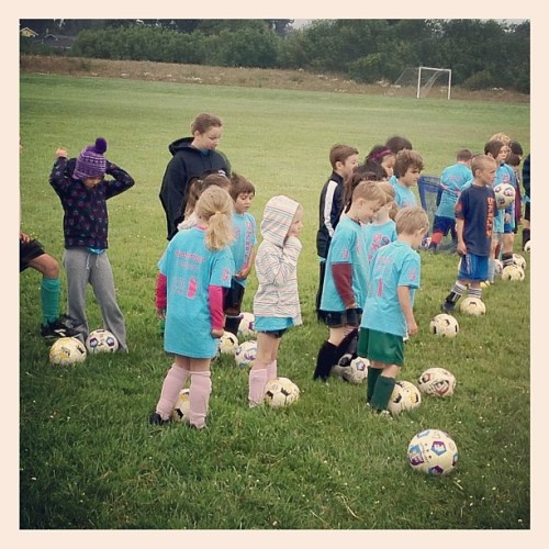 Another pic from the Mad River Soccer Camp with their LF balls.  (Taken with Instagram)