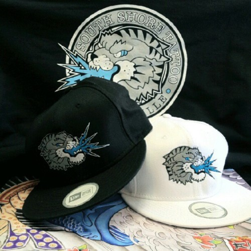 Fresh hats are in! $25. Come get one. (Taken with Instagram at South Shore Tattoo Co.)