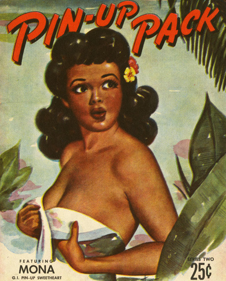 1940's pin-up illustration