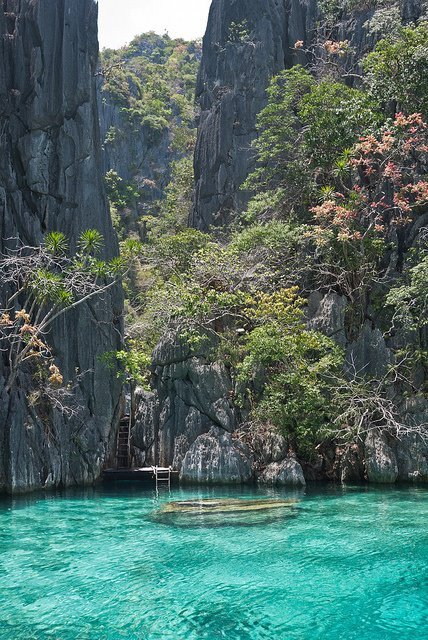 Awesome relaxing place ♥ (Twin Lagoon, Coron, Philippines)