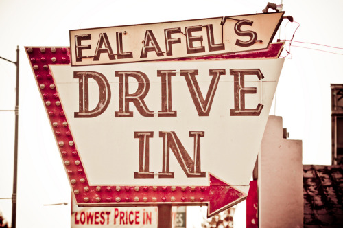 Falafel's Drive In, San Jose. Since 1966.