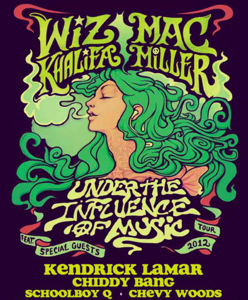 Who is coming to see us on The Influence Tour w/ Wiz and Mac? It's gonna be dope! Get your tickets here.