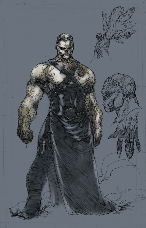 Brett Booth has posted to his blog the character designs he did for Solomon Grundy and Blue Devil. Solomon Grundy saw his first New 52 appearance in Earth 2 #3. Blue Devil will see his first in DC Universe Presents #13. Brett Booth, is the current artist on Teen Titans and also designed Hawkgirl for Earth 2. I really love his Earth 2 designs. Both Hawkgirl and Grundy look great. Plus, James Robinson said on the recent Comic Vine podcast that Brett Booth also designed the new Atom costume. I can't wait to see it!