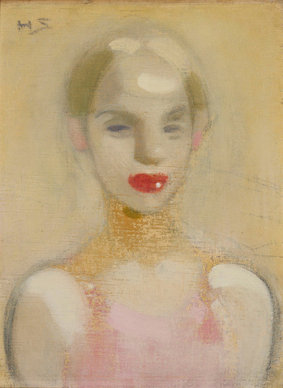 Helene Schjerfbeck, Circus Girl, 1916 by kraftgenie on Flickr.