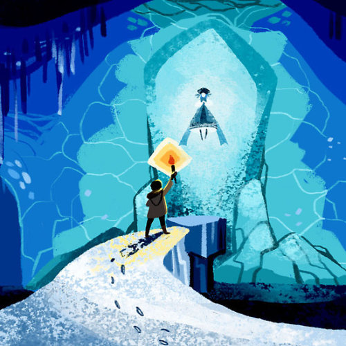 The Ice Cave by Philliplight On cards, prints and posters.