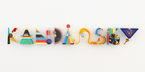 4everdesign:  (via KANDINSKY TYPE on Typography Served)